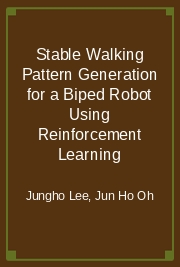 Stable Walking Pattern Generation for a Biped Robot Using Reinforcement Learning