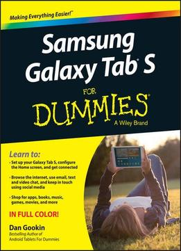 Download Samsung Galaxy Tab S For Dummies