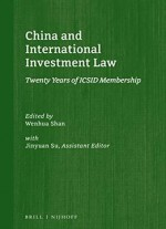China And International Investment Law: Twenty Years Of Icsid Membership