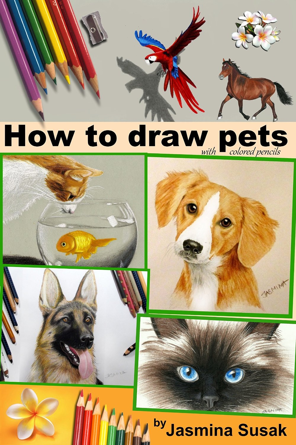 How-To-Draw-Pets-With-Colored-Pencils
