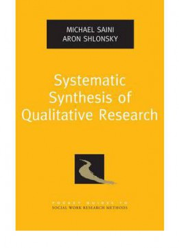 Download ebook Systematic Synthesis Of Qualitative Research