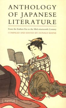 Download Anthology of Japanese Literature: From the Earliest Era to the Mid-nineteenth Century