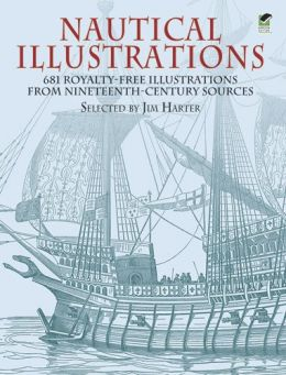 Nautical-Illustrations-681-Royalty-Free-Illustrations-from-Nineteenth-Century-Sources-260x341