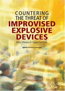 Download ebook Countering The Threat Of Improvised Explosive Devices