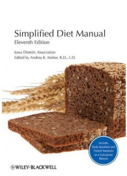 Download Simplified Diet Manual, 11th edition