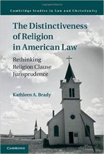 The Distinctiveness Of Religion In American Law: Rethinking Religion Clause Jurisprudence