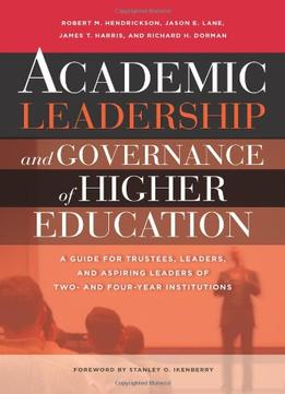 Download Academic Leadership & Governance Of Higher Education