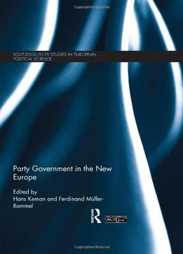 Download Party Government In The New Europe