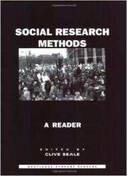 Download Social Research Methods: A Reader