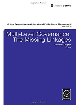 Download Multi-level Governance: The Missing Linkages