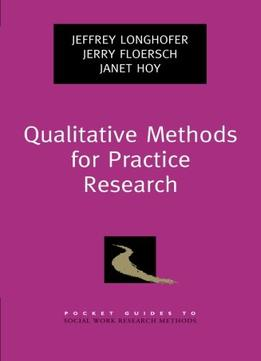 Download Qualitative Methods For Practice Research