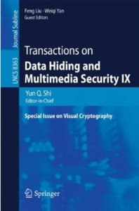 Download Transactions on Data Hiding & Multimedia Security IX