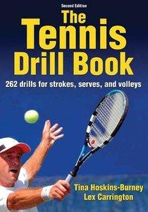 Download ebook The Tennis Drill Book