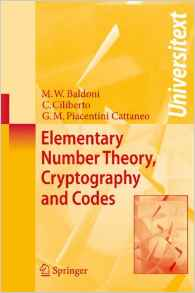 Download ebook Elementary Number Theory, Cryptography & Codes