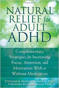 Download ebook Natural Relief for Adult ADHD