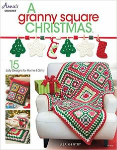 Download ebook A Granny Square Christmas