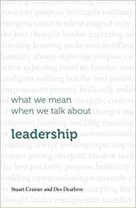 Download ebook What we mean when we talk about leadership