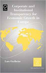 Download ebook Corporate & Institutional Transparency for Economic Growth in Europe, Volume 19