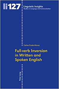 Download ebook Full-verb Inversion in Written & Spoken English