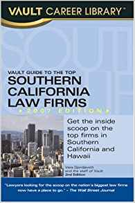 Download ebook Vault Guide to the Top Southern California Law Firms