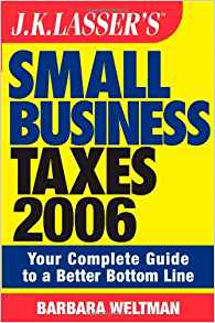 Download ebook JK Lasser's Small Business Taxes 2006