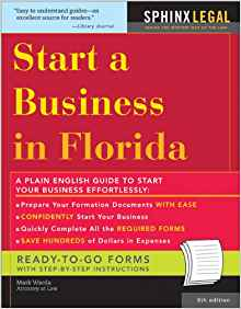 Download ebook Start a Business in Florida (Legal Survival Guides)