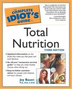Download ebook Complete Idiots Guide to Total Nutrition