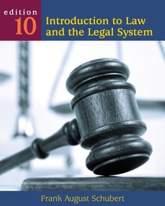 Download ebook Introduction to Law & the Legal System