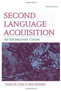 Download ebook Second Language Acquisition: An Introductory Course (3rd edition)