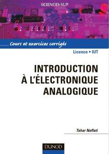 Download ebook Introduction à l'électronique analogique : Cours et exercices corrigés
