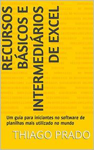 Download ebook Recursos Básicos e Intermediários de Excel