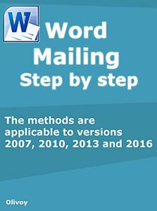 Download ebook Word mailing Step by step