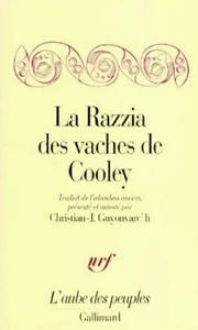 Download ebook La Razzia des vaches de Cooley