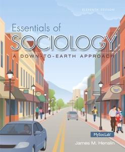 Download ebook Essentials of Sociology, A Down-to-Earth Approach, 11th Edition
