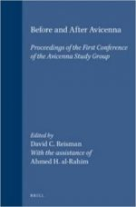 Before and After Avicenna: Proceedings of the First Conference of the Avicenna Study Group