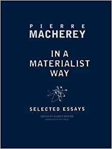 Download ebook In a Materialist Way: Selected Essays