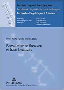 Download ebook Formalization of Grammar in Slavic Languages