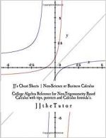 JJ's Cheat Sheets: College Algebra Reference for Non-Trigonometry Based Calculus
