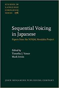 Download ebook Sequential Voicing in Japanese: Papers from the NINJAL Rendaku Project