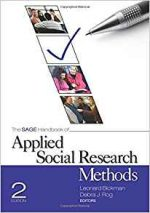 The SAGE Handbook of Applied Social Research Methods, 2 edition