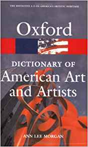 Download ebook The Oxford Dictionary of American Art & Artists