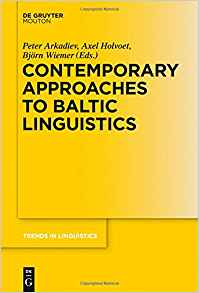 Download ebook Contemporary Approaches to Baltic Linguistics