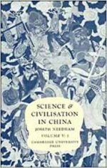 Science and Civilisation in China: Volume 5, Chemistry and Chemical Technology, Part 3