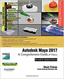 Download ebook Autodesk Maya 2017: A Comprehensive Guide, 9th Edition