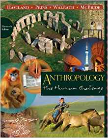 Download ebook Anthropology: The Human Challenge