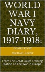 World War 1 Navy Diary, 1917-1918