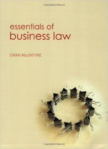 Download ebook Essentials of Business Law: Working Title