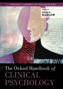 Download ebook The Oxford Handbook of Clinical Psychology