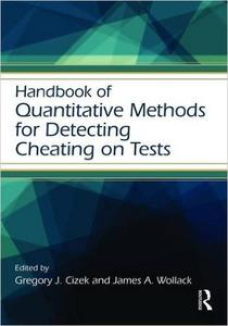 Download ebook Handbook of Quantitative Methods for Detecting Cheating on Tests