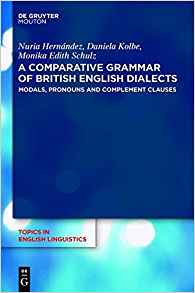 Download A Comparative Grammar of British English Dialects